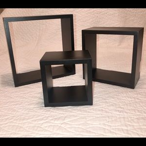 Black Hanging Wall Decor Boxes